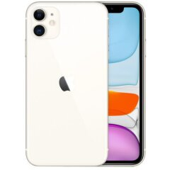 Apple iPhone 11 128GB Dual Sim White (MWN82)